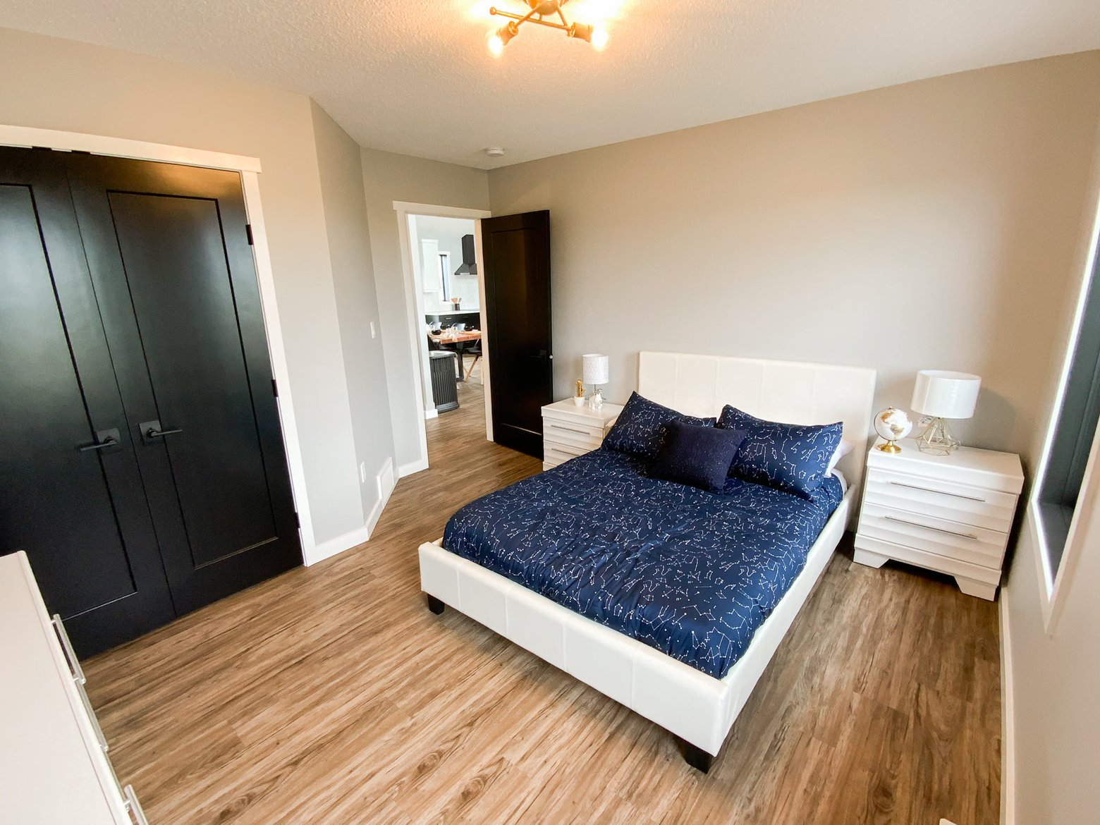 bedroom in a ready to move modular home in alberta.jpg